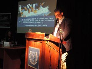 """Se presentó el libro """"Escuelas Secundarias de Universidades Nacionales Argentinas"""""""