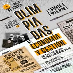VI Edición Olimpíadas de Economía y Gestión para el Nivel Secundario