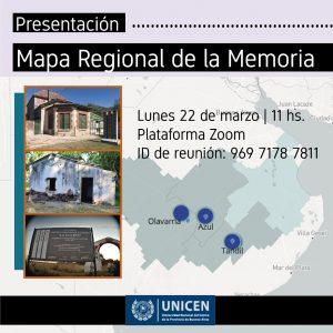 Presentación del Mapa Regional de la Memoria